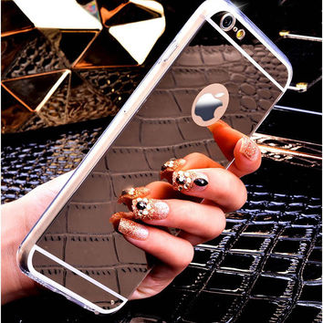 Bling Luxury Mirror Cell Phone Case