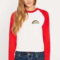 Urban Renewal Vintage Customised San Francisco Patch Raglan T-Shirt - Urban Outfitters