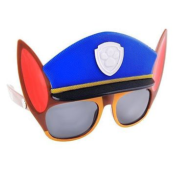 Officially Licensed Paw Patrol Chase Sunstaches Sun Glasses