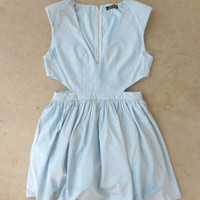 Stirling Blue Party Dress