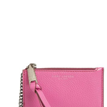 MARC JACOBS Recruit Leather Key Case | Nordstrom