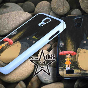 My Neighbor totoro umbrella iPhone Case, iPhone 4/4S, 5/5S, 5c, Samsung S3, S4 Case, Hard Plastic and Rubber Case By Dsign Star 08