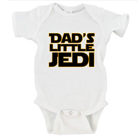 Dad's Little Jedi Gerber Onesuit ®