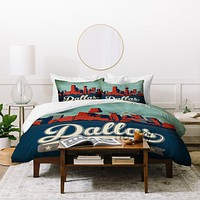 Anderson Design Group Dallas Duvet Cover