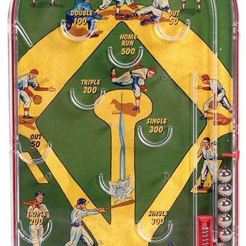 Retro Homerun Baseball Pin Ball