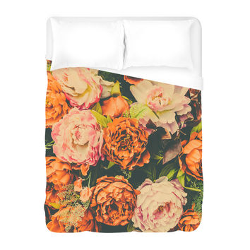 Vintage Flower Duvet Cover