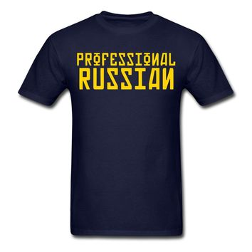 FPS Russia Professional Russian Men's T-Shirt Print T Shirt Men Brand Clothing Cute Tatoo Lover T-Shirt Fashion Classic
