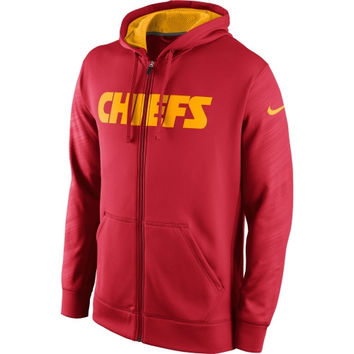 Kansas City Chiefs Nike KO Warp Full Zip Hoodie - Red