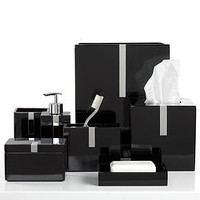 Roselli Bath Accessories, Black Resin Collection - - Macy's