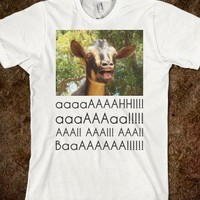 Screaming Goats - Text Tees