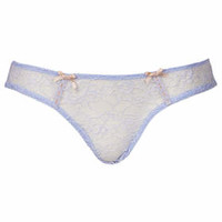 Low Rise Mini Knickers - Ice Blue