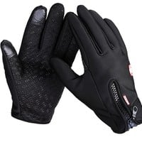 Windstopper Outdoor hiking Touch Screen Glove Cycling Gloves Mountaineering Military Motorcycle Running Gloves