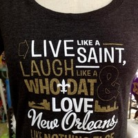 Fleurty Girl - Everything New Orleans - Live, Laugh, Love