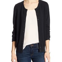 Banana Republic Womens Factory Forever Crew Cardigan