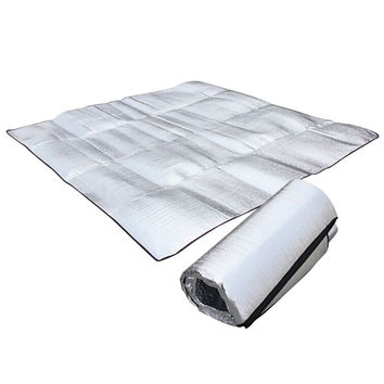 Foldable Folding Sleeping Mattress Mat Pad Waterproof Aluminum Foil EVA Outdoor Camping Inflatable Mattress