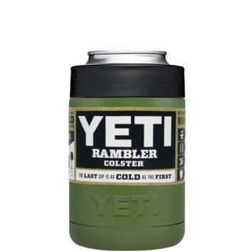 Custom YETI Colster Army Green Design Your Own Bottle & Can Cooler