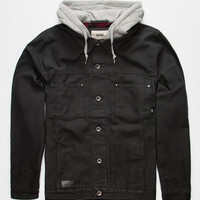 Vans Calpine Mens Jacket Black  In Sizes