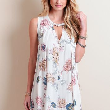 Lovers Lane Floral Dress | Threadsence