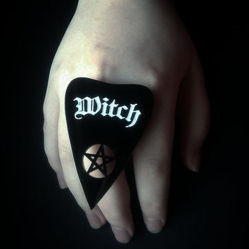 Witch Planchette Ring