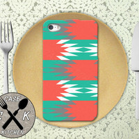 Aztec Tribal Pattern Tumblr Inspired Cute Custom Rubber Tough Case For iPhone 4 and 4s and iPhone 5 and 5s and 5c and iPhone 6 and 6 Plus +
