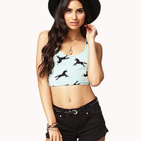 Unicorn Crop Top