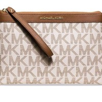 One-nice™ NWT Michael Kors Signature Tech Zip Wristlet