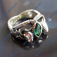 The lord of the Rings Aragorn's Ring---925sterling silver