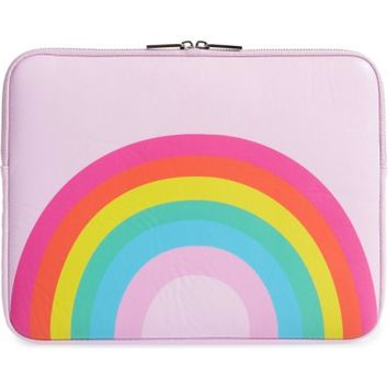 Skinny Dip Over the Rainbow 13-Inch Laptop Sleeve | Nordstrom