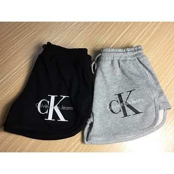 Calvin Klein Women Fashion Stretch Running Sport Shorts