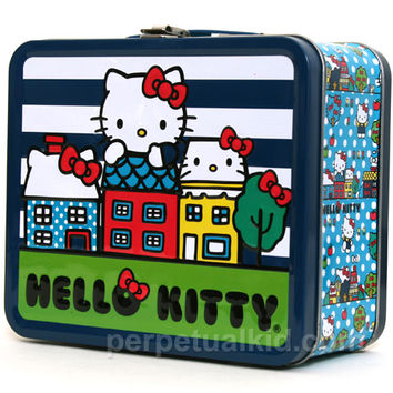 HELLO KITTY CITY LUNCH BOX