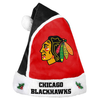 Chicago Blackhawks Basic Santa Hat - 2015