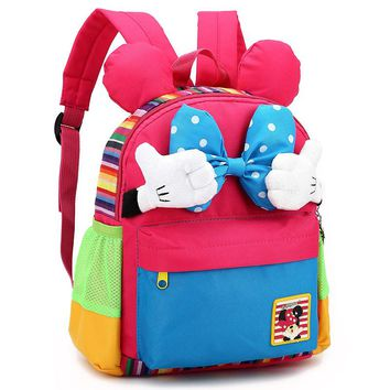2018 NEW Kids School Backpack Children School Bags For Kindergarten Girls Boys Nursery Baby Student book bag mochila infantil