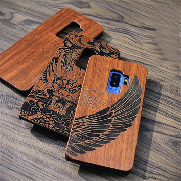 Hard Shell Natural Wood iPhone Case