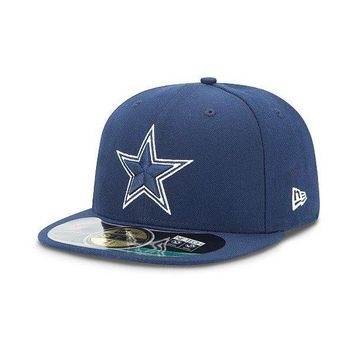 Men's New Era Dallas Cowboys Sideline Classic 59FIFTY® Football Structured Fitted Hat