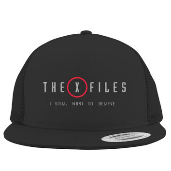 The X Files I Still Want To Believe  Trucker Hat