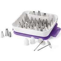Wilton Master Decorating Tip Set, 55-Piece, 2104-0240