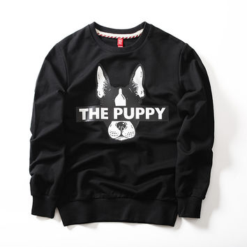 The Puppy Embroidered Unisex Sweatshirt