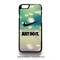 Cool Just Do It Nike Art for iPhone 4 4S 5 5S 5C 6 6 Plus , iPod Touch 4 5  , Samsung Galaxy S3 S4 S5 Note 3 Note 4 , and HTC One X M7 M8 Case Cover