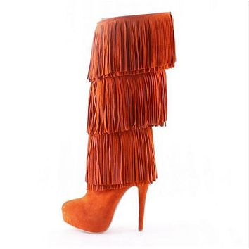 Party Tassel Boots