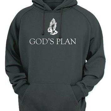 Drake God's Plan P2 Adult Unisex Pullover Hoodie