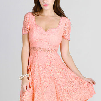 Sherbet for Dessert Dress - $47.95 : Shop Cute Dresses and Clothing - Canada