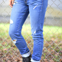 Stole 'Em From Your Boyfriend Jeans