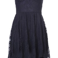 Motel Rocks Strapless Lace Dress - American Rag - Farfetch.com