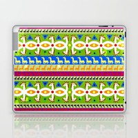 African Unicorn pattern Laptop & iPad Skin by That's So Unicorny