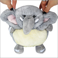Squishable Pygmy Elephant: An Adorable Fuzzy Plush to Snurfle and Squeeze!