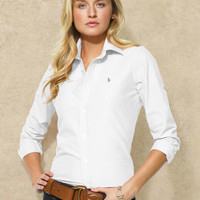 Solid Oxford Shirt