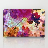 flowers and light iPad Case by clemm