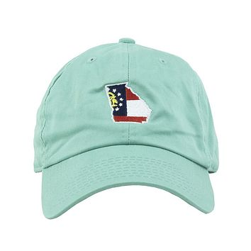 Georgia Traditional Hat in Mint by State Traditions