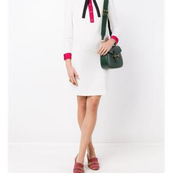 GUCCI   Shirt Shift Dress   brownsfashion.com   The Finest Edit of Luxury Fashion   Clothes, Shoes, Bags and Accessories for Men & Women