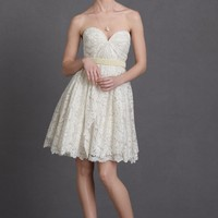 Lustrous Lace Dress in SHOP New at BHLDN